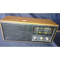 Radio Antigo Frahm Rc 200 Otimo Estado, Funcionando Madeira