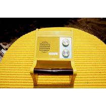Rádio Novelty Transistor Estilo Porta Papel Higiênico 1970