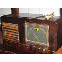Radio A Valvula De Mesa 110 Volts Funcionando Ok
