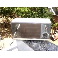 Rádio Relógio Zenith Transistoriz. Z265w 1968 C/ Caixa Ori
