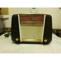 Radio Antigo Philips Modelo Br 305u Valvulado #9