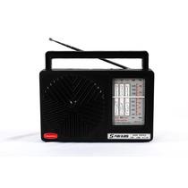 Radio Vintage Retro Preto De Mesa 5 Faixas Fm Om 5oc Crp 51