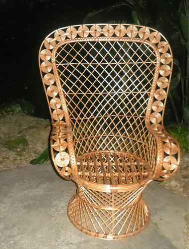 Rainha Cadeira Em Vime - Frete Grátis Rio De Janeiro