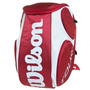 Mochila Tour Large Branco/vermelho Wilson