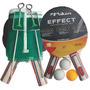 Kit 2 Raquetes + Rede + 3 Bolas De Ping Pong Poker C/ Nf