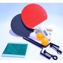 Kit Ping Pong 2 Raquetes Tênis De Mesa.( Frete Grátis Brasil
