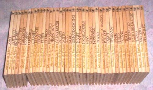Rara Coleção 1ªed 40 Volumes Mestres Da Pintura Abril Cultu
