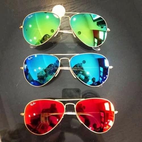 3ee56afa1c404 óculos De Sol Feminino Espelhado Aviador Espelhado Prata R 3976