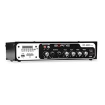 Receiver Amplificador P/ Som Ambiente Rc4000 Radio Fm Usb