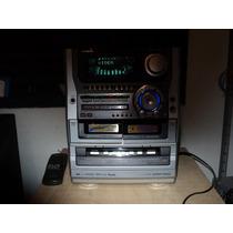 Micro System Aiwa Nsx-t96 + Caixas Acusticas.