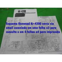 Esquema Kenwood Kr-4200 Kr4200 Envio Via Email 10,00