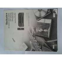 Manual. Original Receiver Téchnics Sa Gx 550.350.