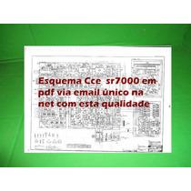 Esquema Receiver Cce Sr7000 Sr 7000 Em Pdf Via Email