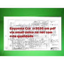 Esquema Receiver Cce Sr3030 Sr 3030 Em Pdf Via Email
