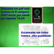 Esquema Em Pdf Telefunken Hi Fi Compact 2001