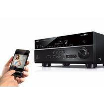Receiver Yamaha Rx-v679 7.2 150w Wifi/bluetooth/3d/4k/zona 2