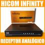 Receptor Analógico Para Antena Parabólica Hicom Infinity