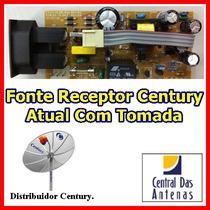 Fonte Receptor Century Atual Com Tomada Padrão Mod. Novo