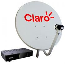 Kit Antena Com Receptor Claro Tv Livre Visontec