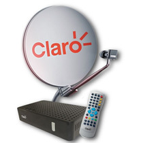 Kit Mini Parabólica Digital Claro Tv Livre Sem Mensalidade