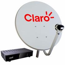 Claro Tv Livre + Habilitação Gratuita Com Lnb Simples.