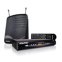Kit Conversor Digital Aquário Dtv-8100 + Gravador + Hdmi