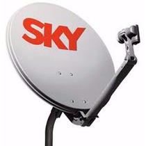 Antena Sky 60 Cm Banda Ku Completa