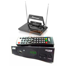 Conversor Tv Digital Hdmi Full Hd Usb + Antena Digital Hdtv