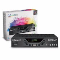 Alphasat Receptor Chroma Hd Wi-fi Grava Em Usb Qualidade Hd