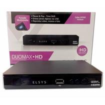 Receptor Banda C Analogico/digital/hd Elsys Duomax Hd