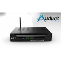 Audisat A3 + Wifi Usb F.hd