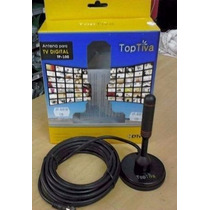Antena Para Tv Digital Tp-100 Top Tiva Hdtv Cabo Coaxial