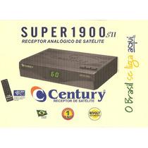 Receptor De Antena Parabólica Century Com Controle Remoto