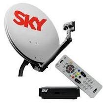 Antena Sky Pre Pago Master 12 Meses