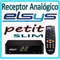 Receptor Analógico Para Antena Parabolica ** Modelo Slim **