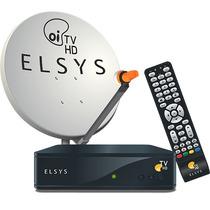 Kit Oi Tv Hd Livre Kit Completo P/instalação Elsys Promocao