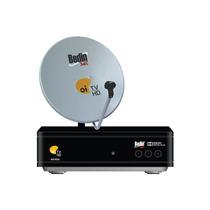 Kit Oi Tv Livre Lnb Duplo Antena De 60cm