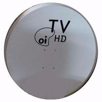 6 Antenas Banda Ku 60 Cm + Lnb Simples