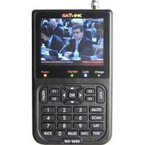 Localizador De Satélite Antena Satlink Ws-6906