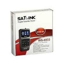 Satlink Ws-6933 Dvb-s2 Localizador Satélite - Hd Acha Ses 6