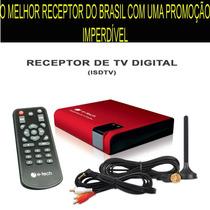 Receptor/antena Tv Digital Automotivo.tv No Dvd Do Seu Carro