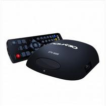 Mini Conversor Digital Aquario Dtv-5000 Com Função Gravador