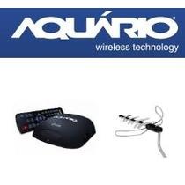 Kit Conversor Digital Aquário Dtv5000 + Dtv2000 Com Cabo