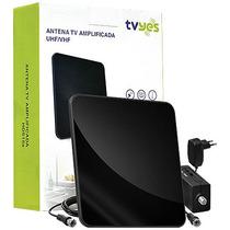 Antena Para Tv Amplificada Ultra Slim Bivolt Full Hd Tvyes