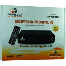 Receptor Sinal Digital Hd Hdmi Conversor Imagevox Isdb01 E78
