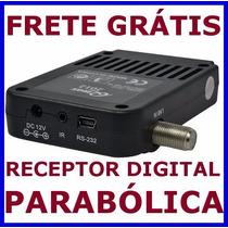Receptor Digital Parabolica Banda C E Ku Frete Gratis
