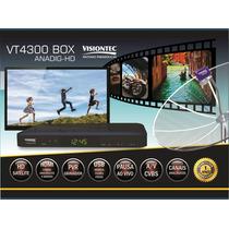 Receptor Vt4300 Digital Hd E Analógico + Frete Grátis !!