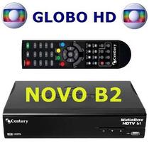 Receptor Parabolica Century Midiabox B1 Com Globo Hd
