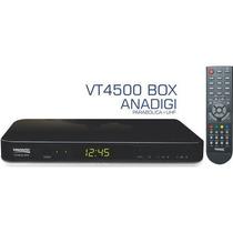 Conversor + Receptor De Parabólica Anadighd Vt-4500 Box Pr