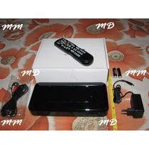 Conversor Digital Hd Dig. Box Stb-01 Alta Definição Bi Volt!